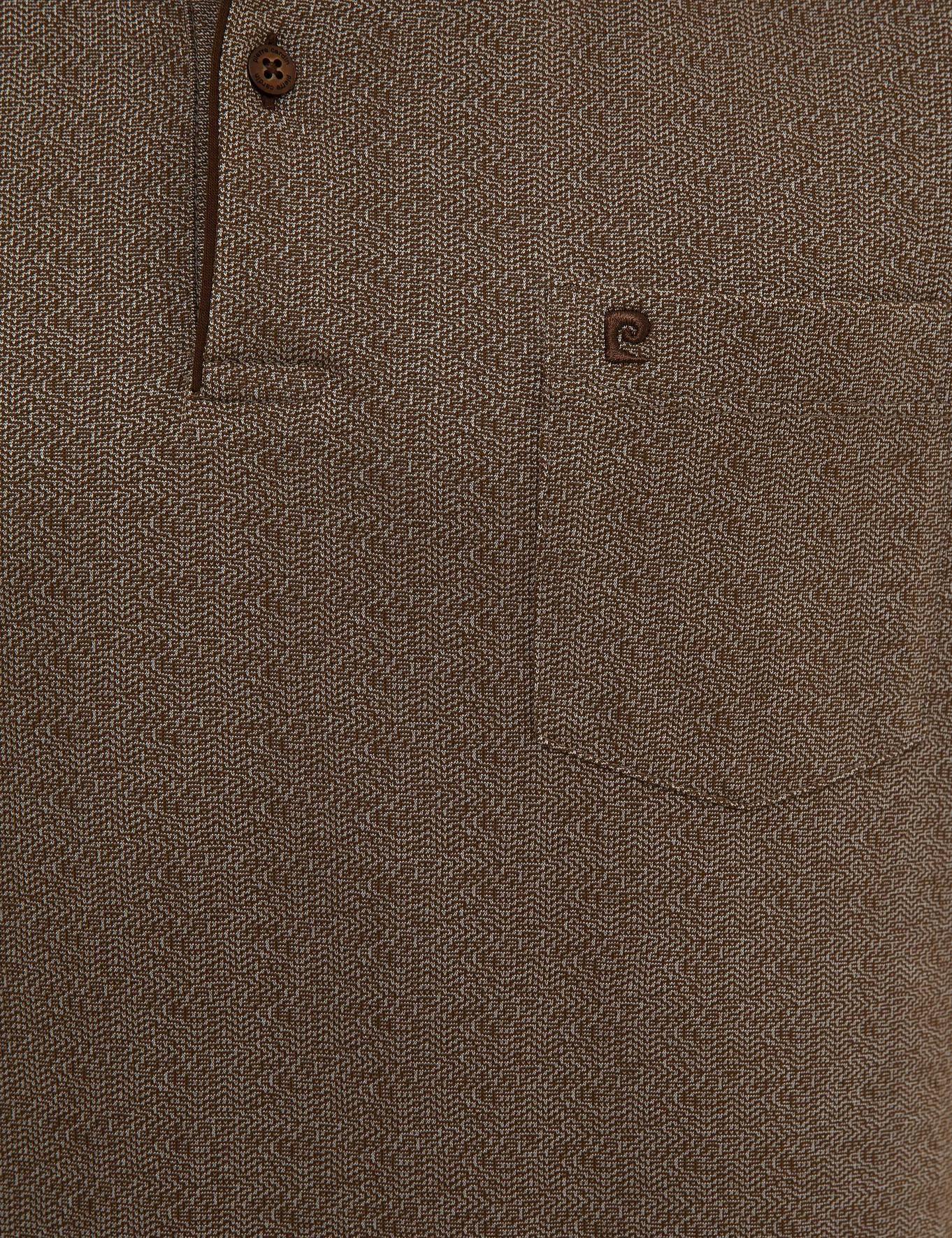 Kahverengi Regular Fit T-Shirt