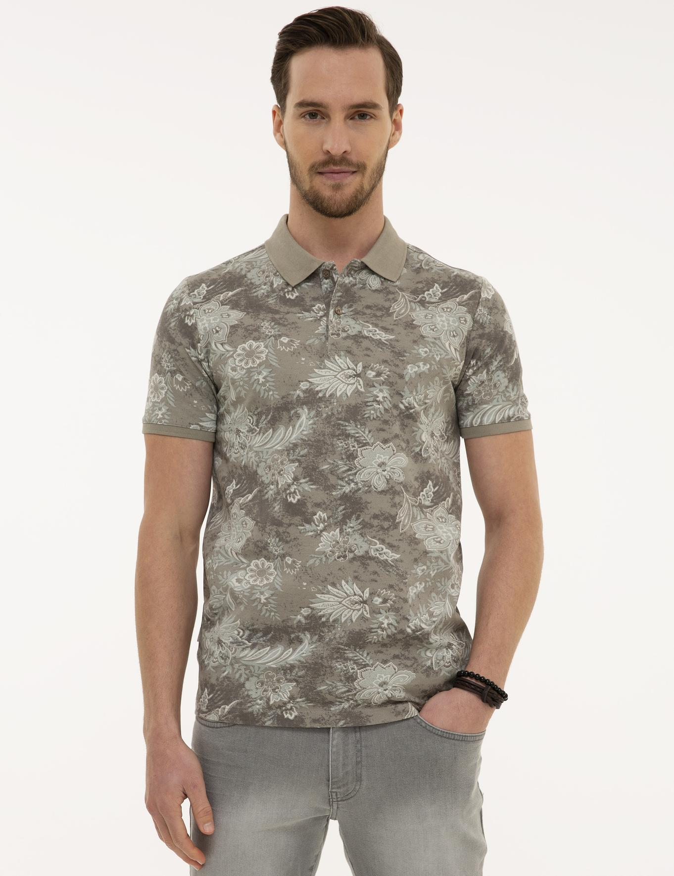 Koyu Gri Slim Fit T-Shirt