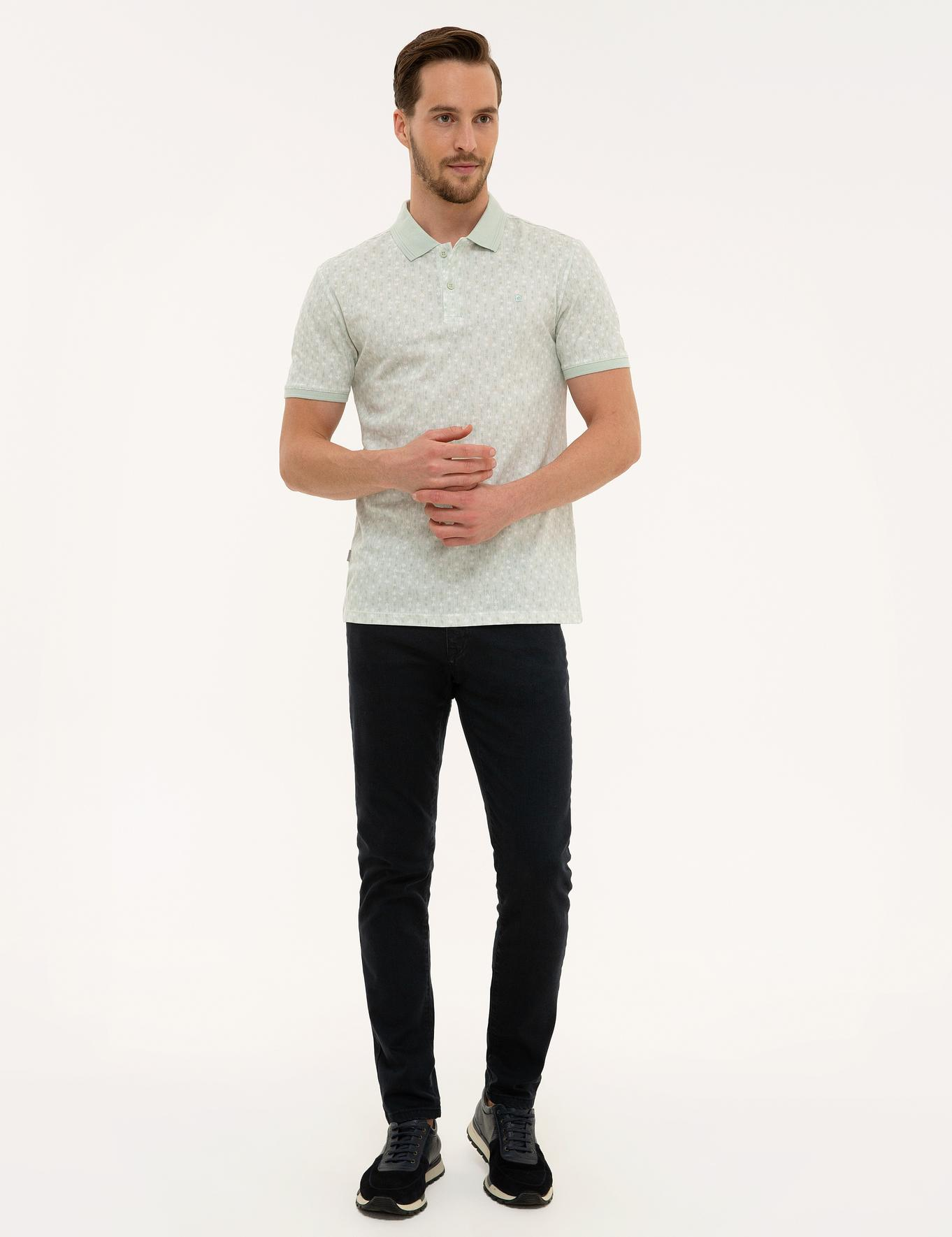 Mint Yeşil Slim Fit T-Shirt