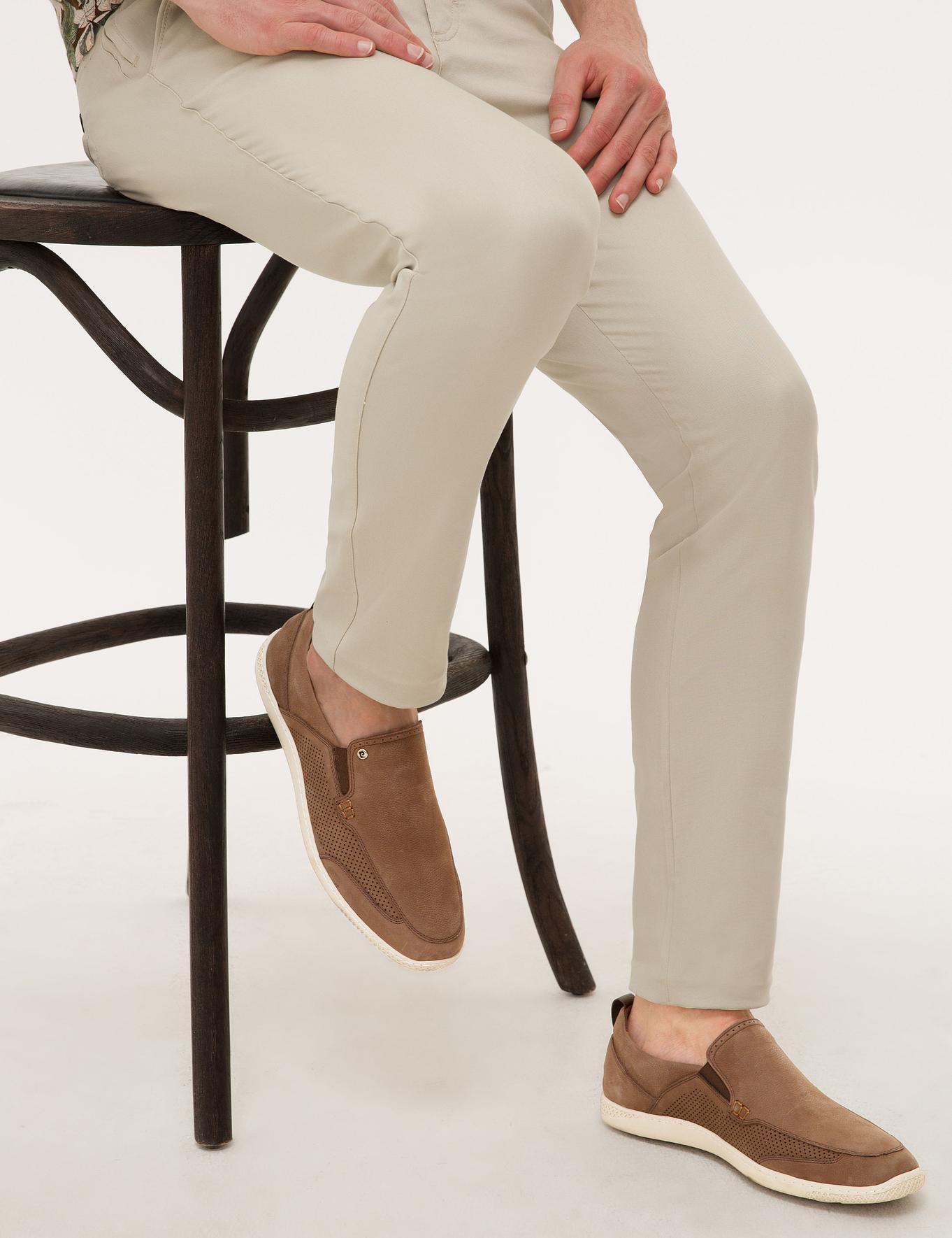 Kahverengi Oxford Ayakkabı