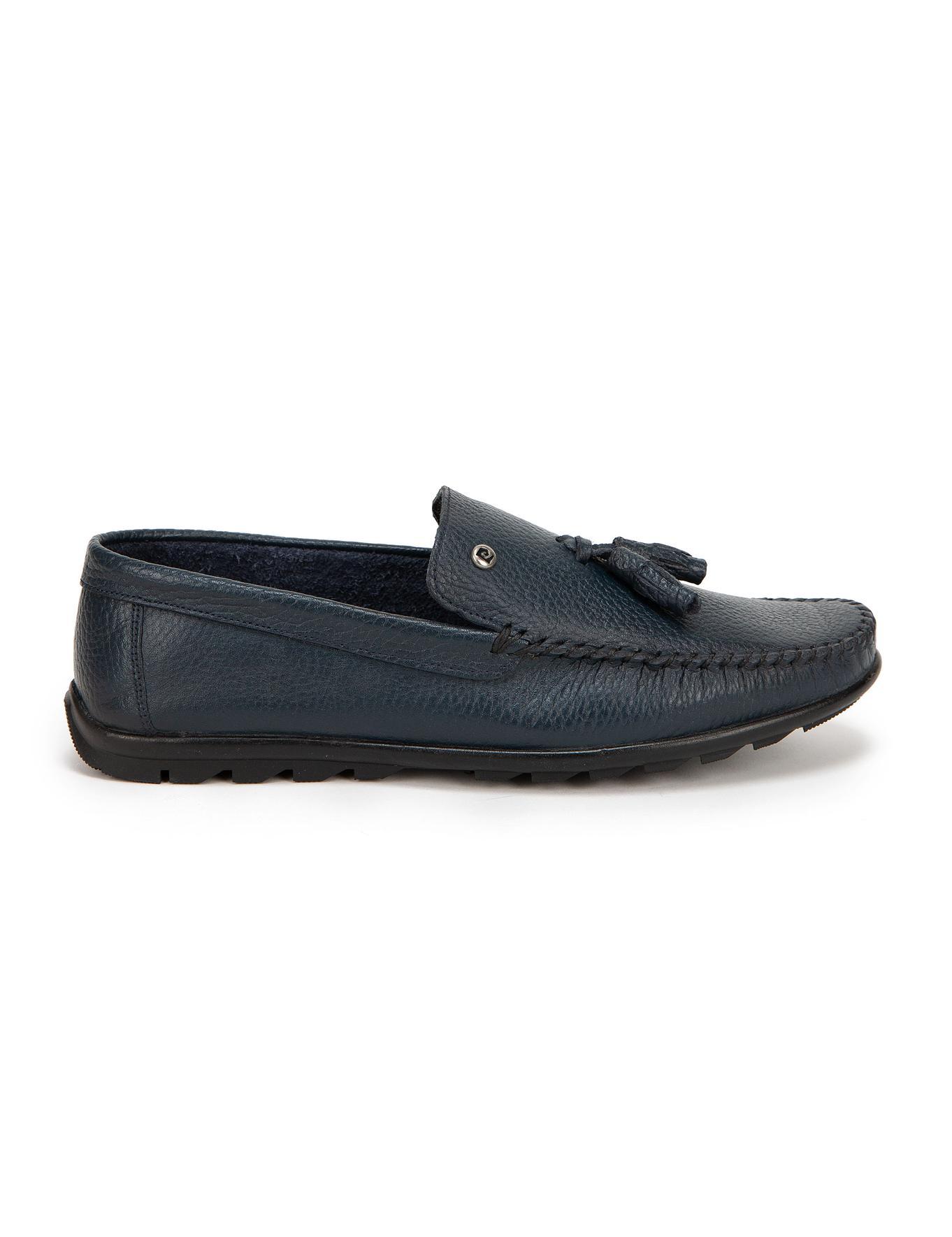 Lacivert Loafer Ayakkabı