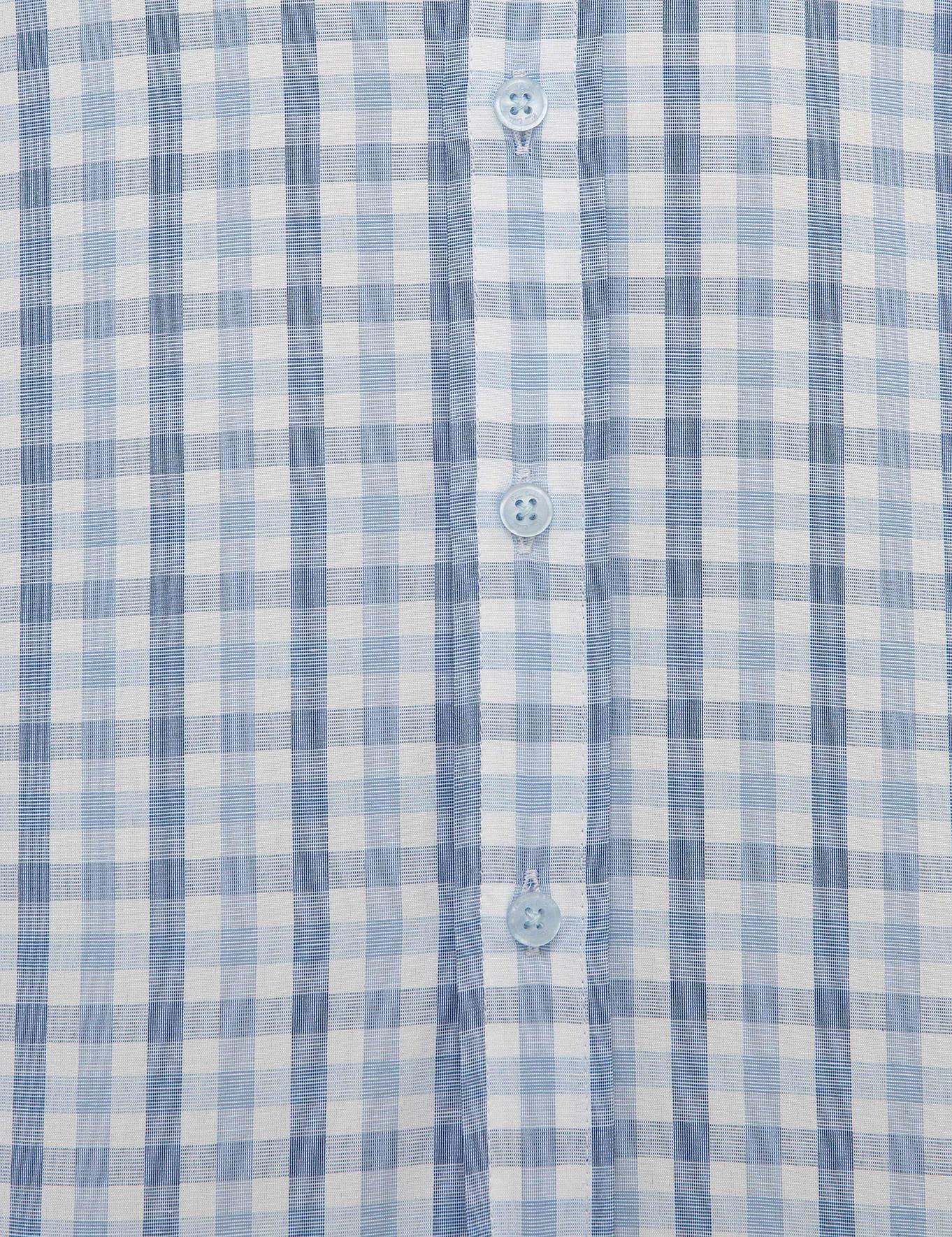Açık Mavi Regular Fit Kısakol Gömlek