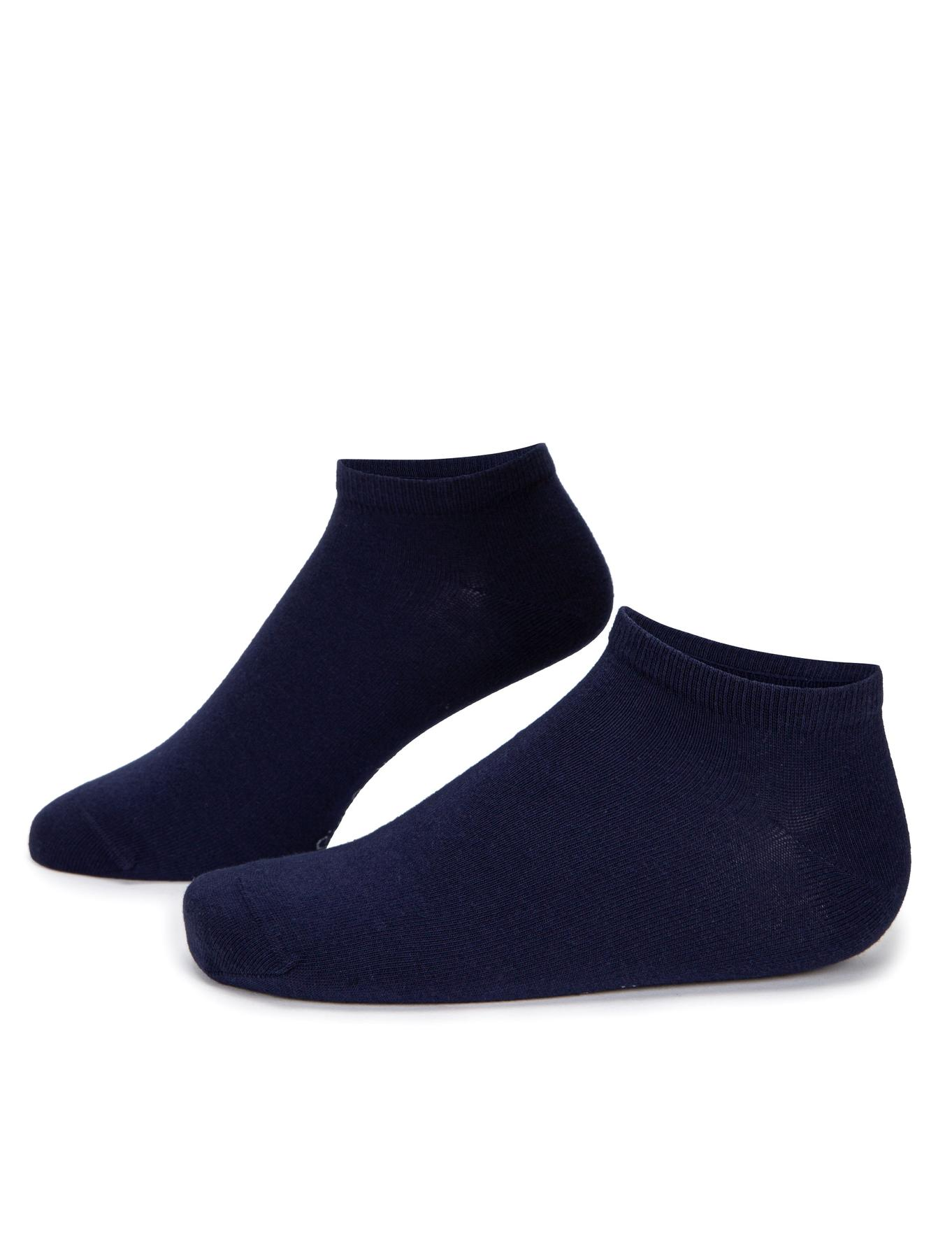 Lacivert Patik Çorap