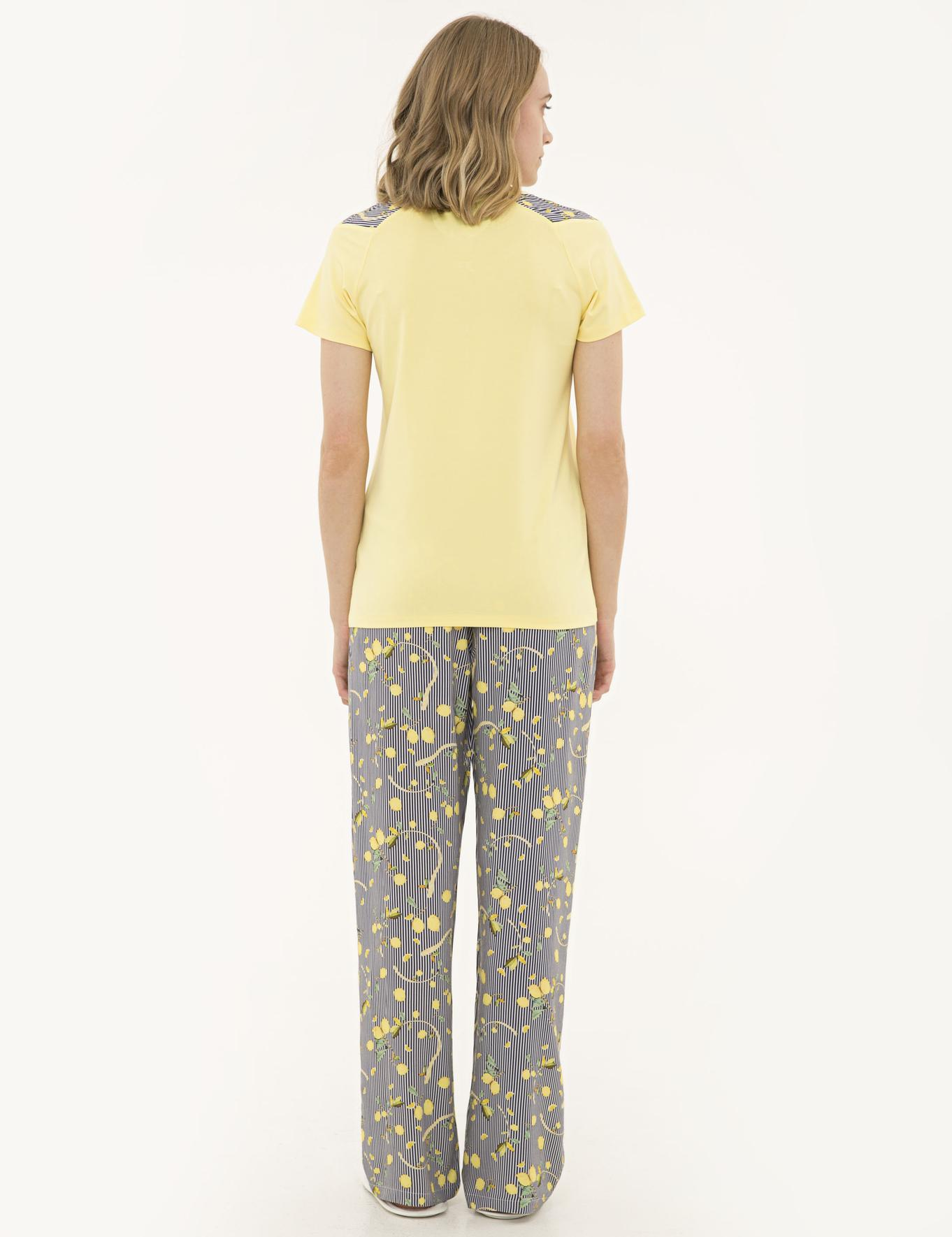 Sarı Pijama Takım