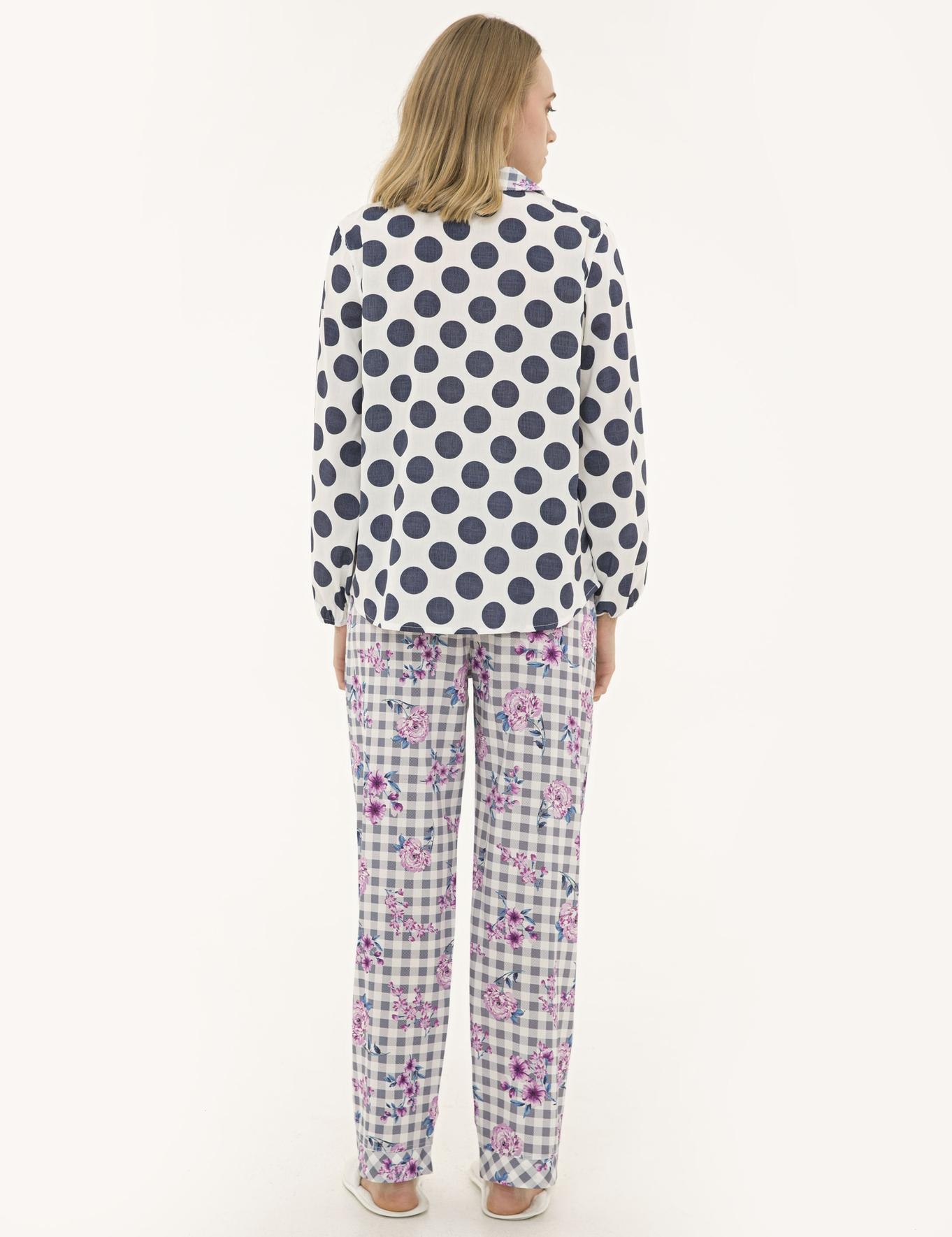 Mor Pijama Takım