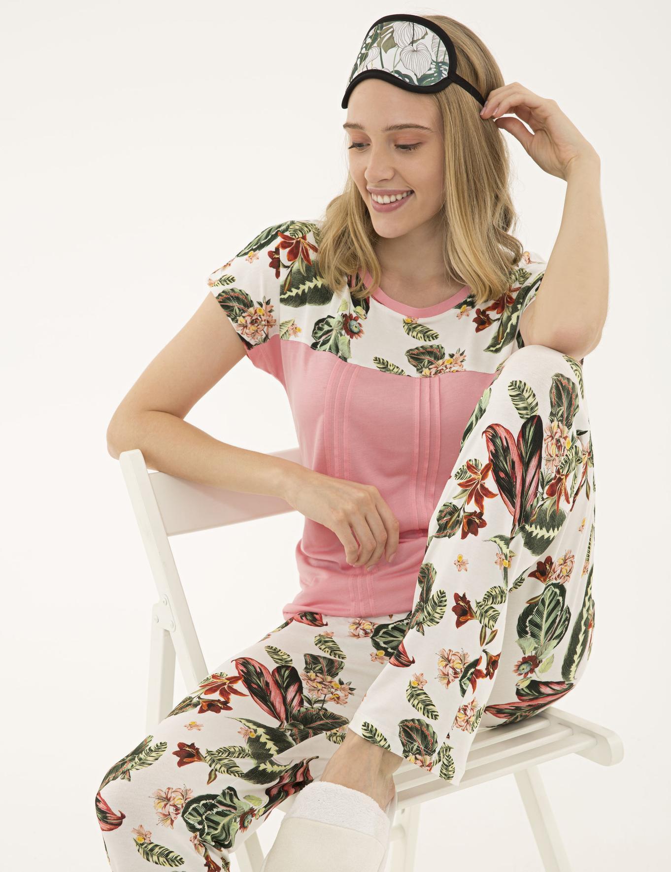 Pudra Pijama Takım