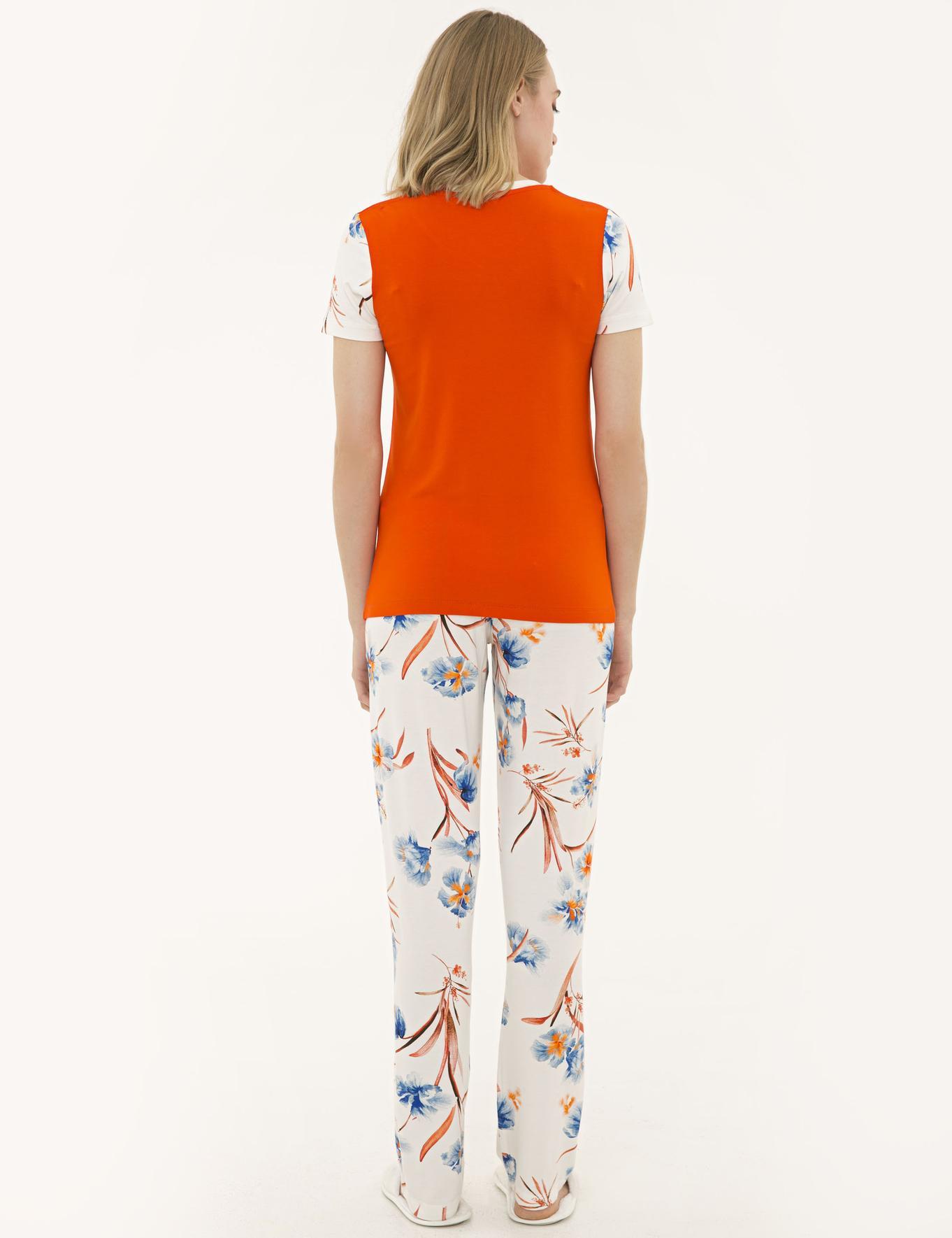 Turuncu Pijama Takım