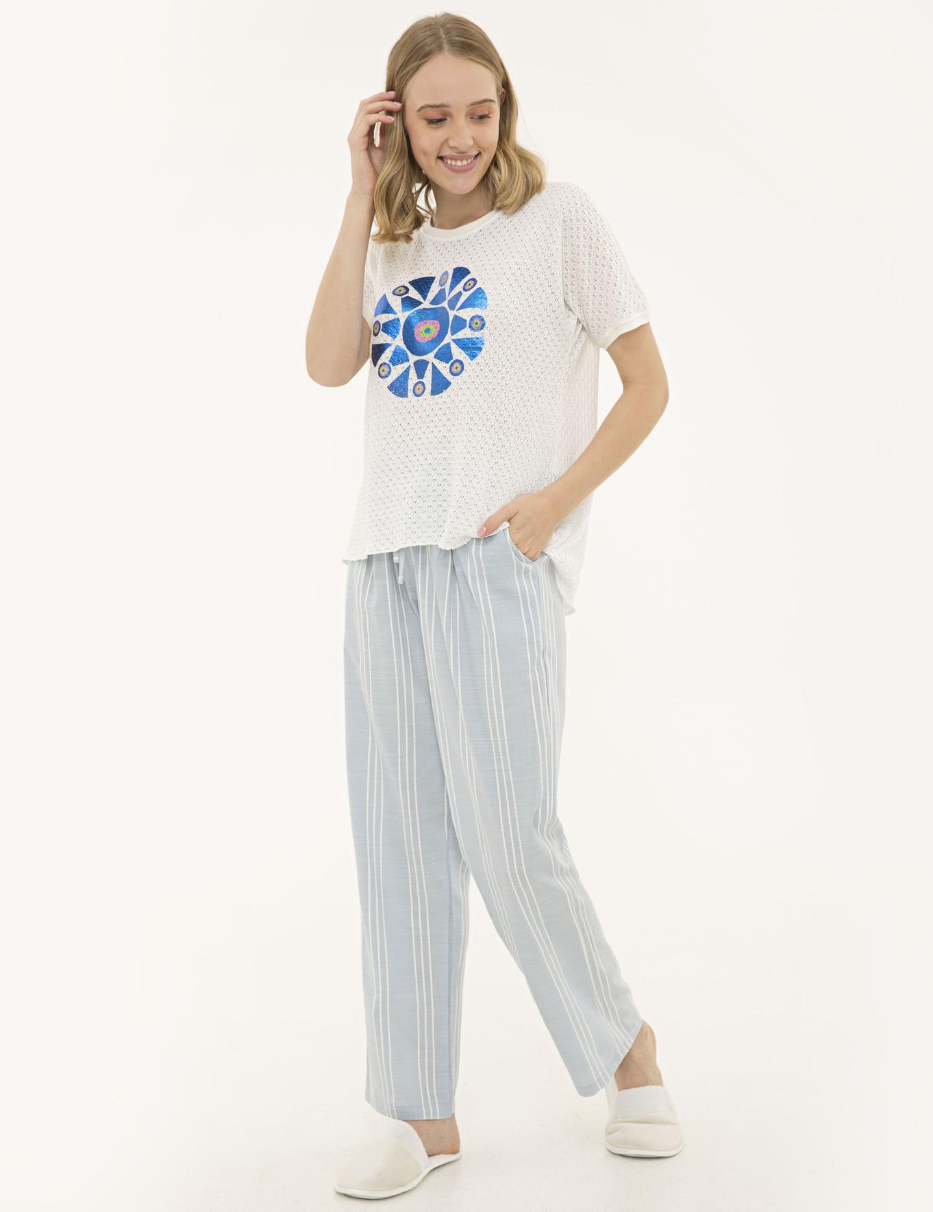 Mavi Pijama Takım