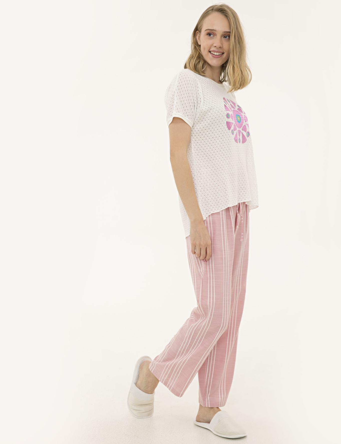 Pembe Pijama Takım
