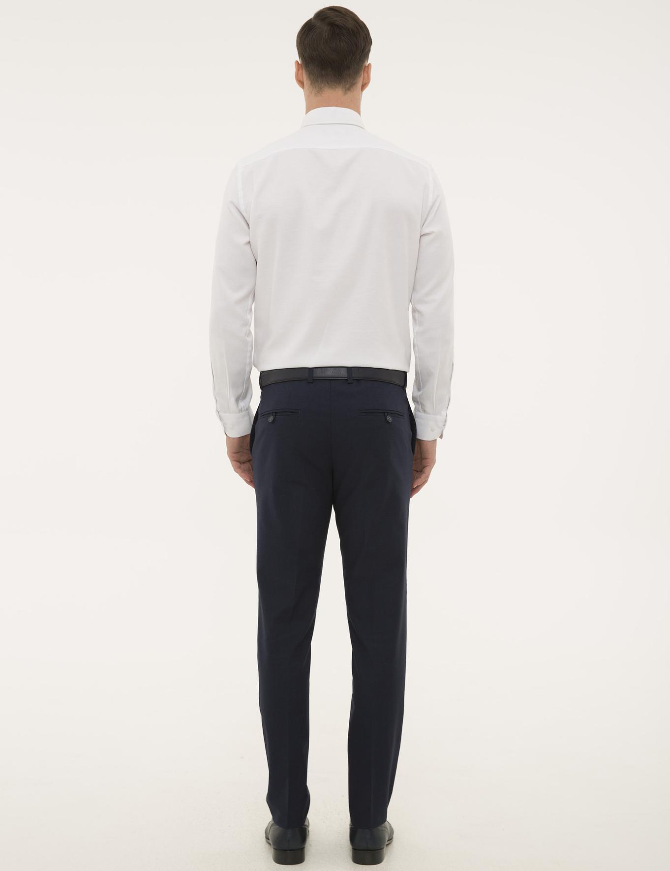 Lacivert Ekstra Slim Pantolon