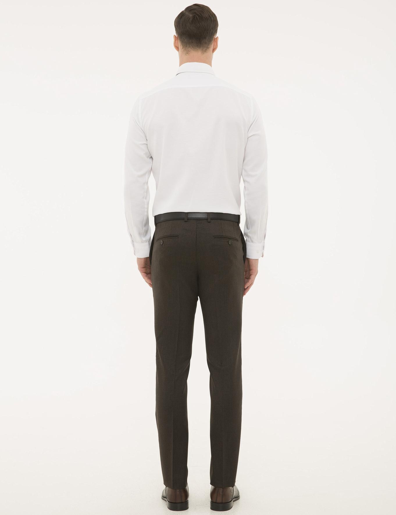 Kahverengi Slim Pantolon