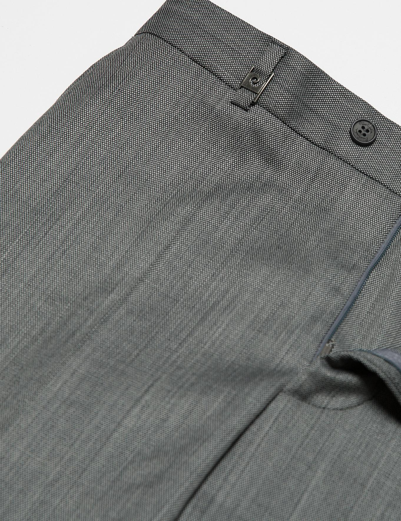 Gri Slim Fit Pantolon