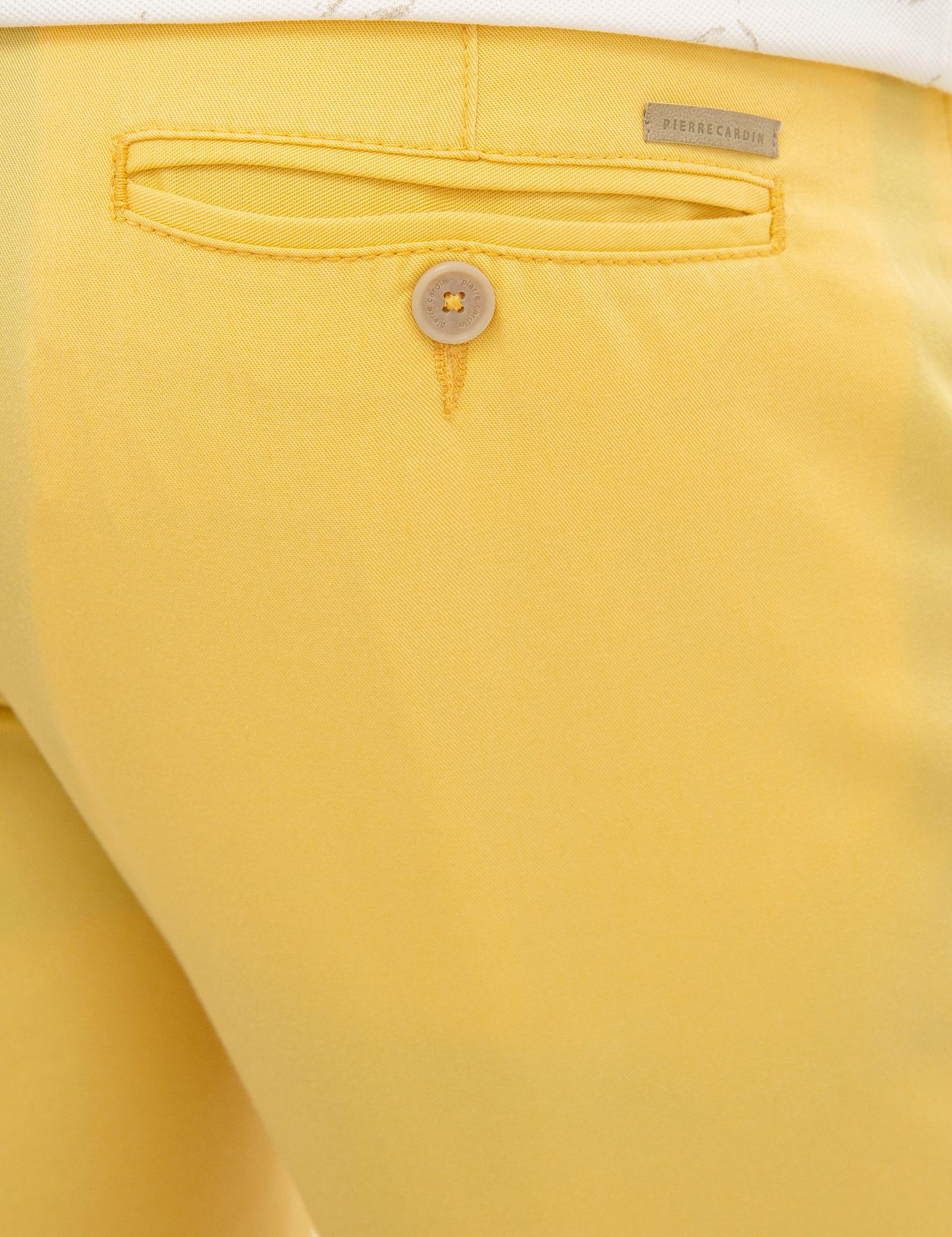 Sarı Standart Fit Bermuda Şort