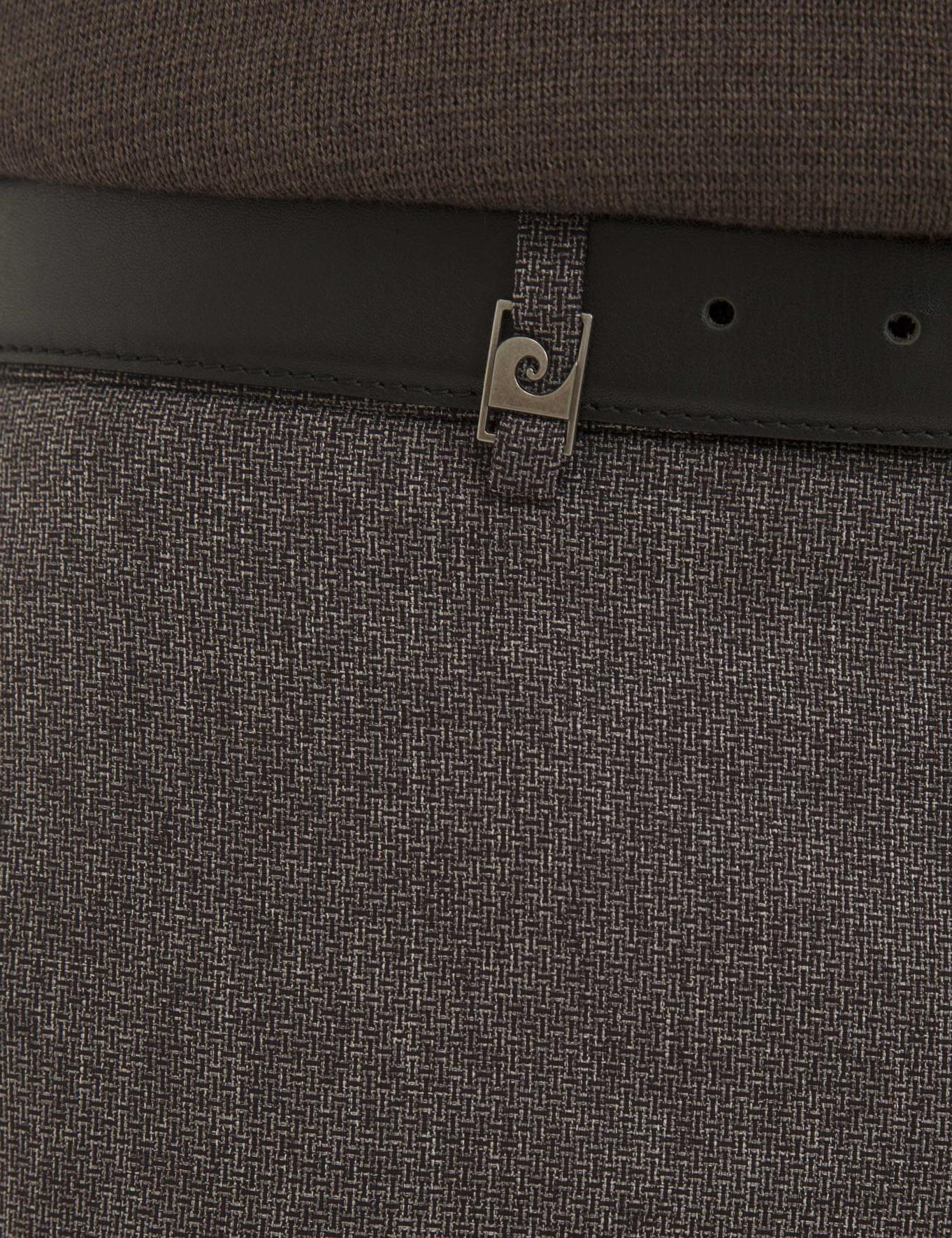 Bordo Ekstra Slim Fit Pantolon