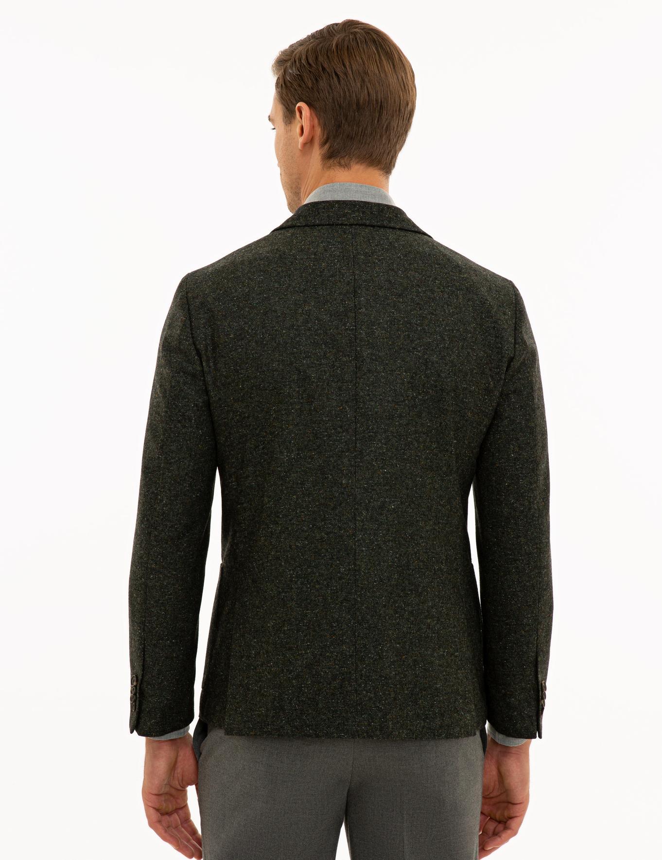 Haki Ex. Slim Fit Ceket