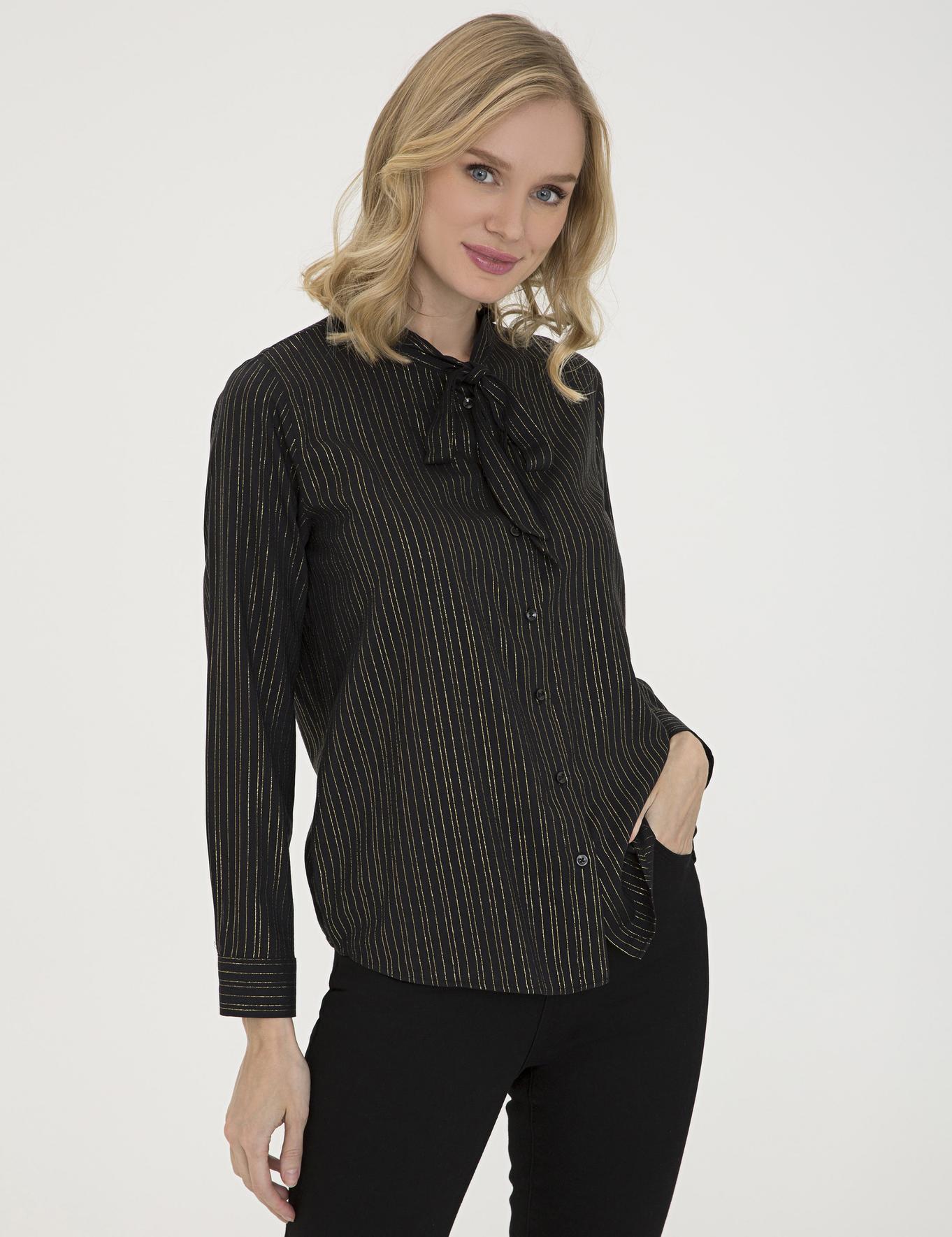 Siyah Regular Fit Gömlek