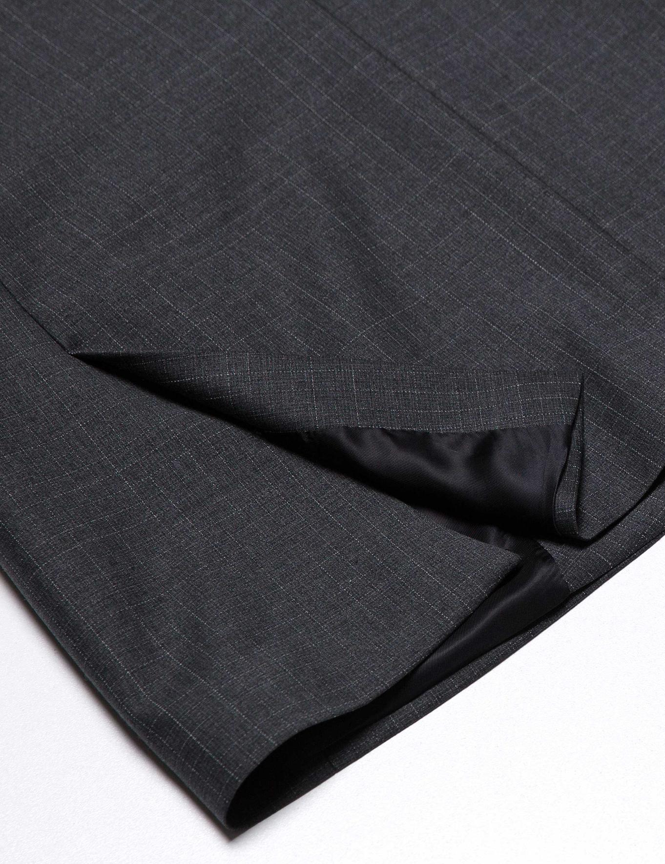 Antrasıt Slim Fit Takım Elbise