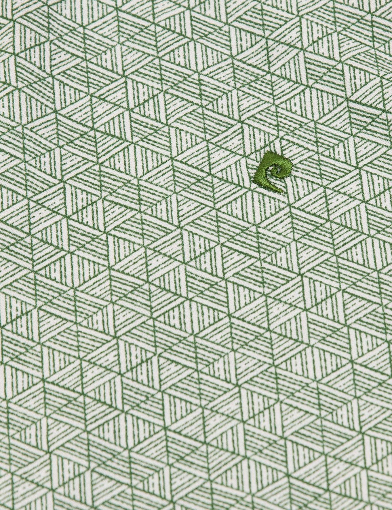 Yeşil Slim Fit T-Shirt