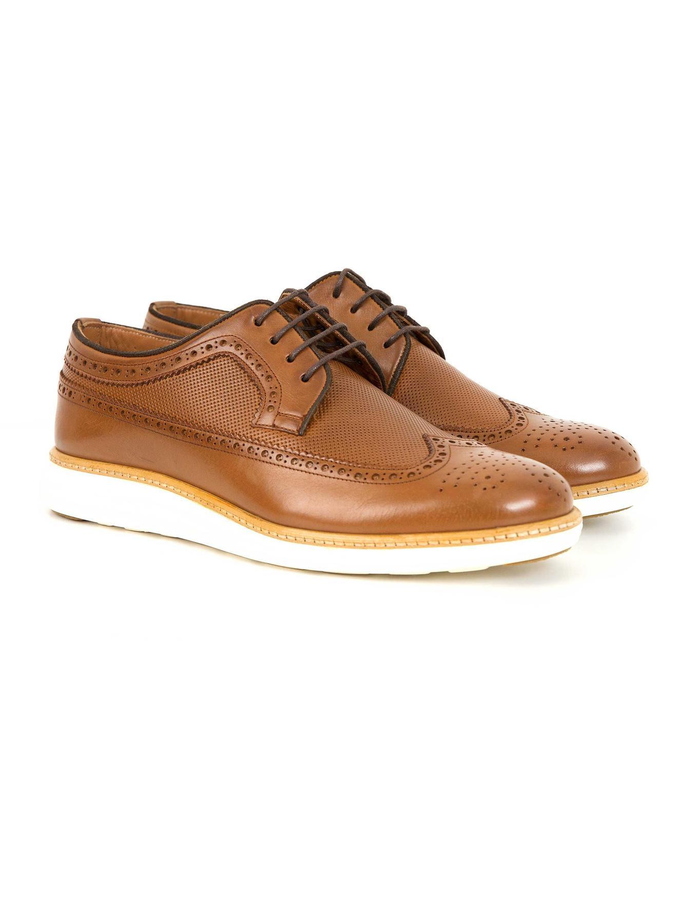 Taba Oxford Ayakkabı