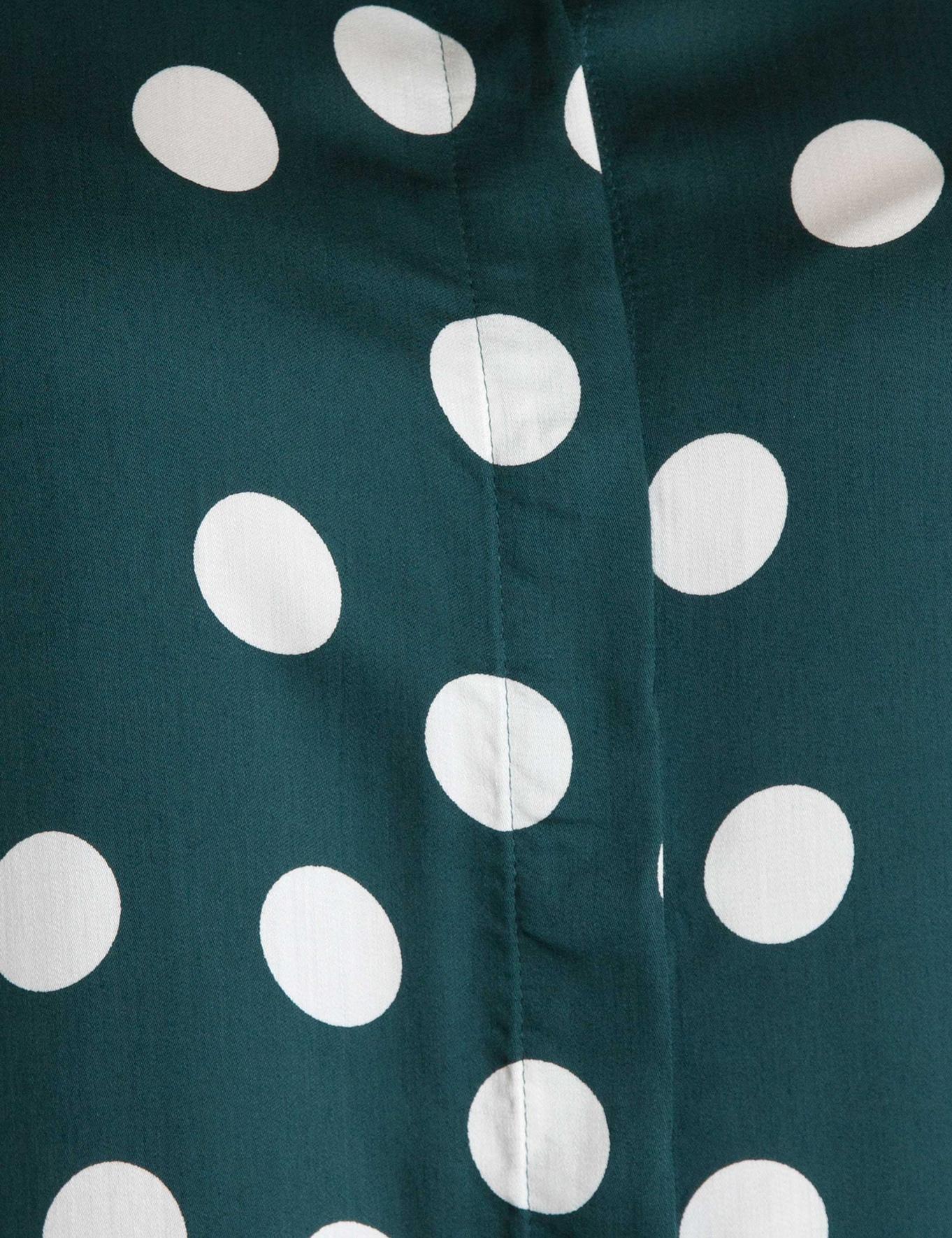 Yeşil Dokuma Gömlek