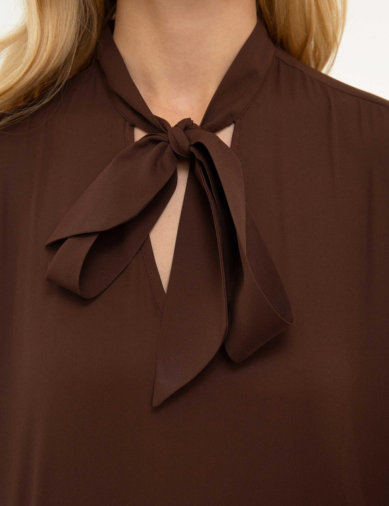 Kahverengi Dokuma Gömlek