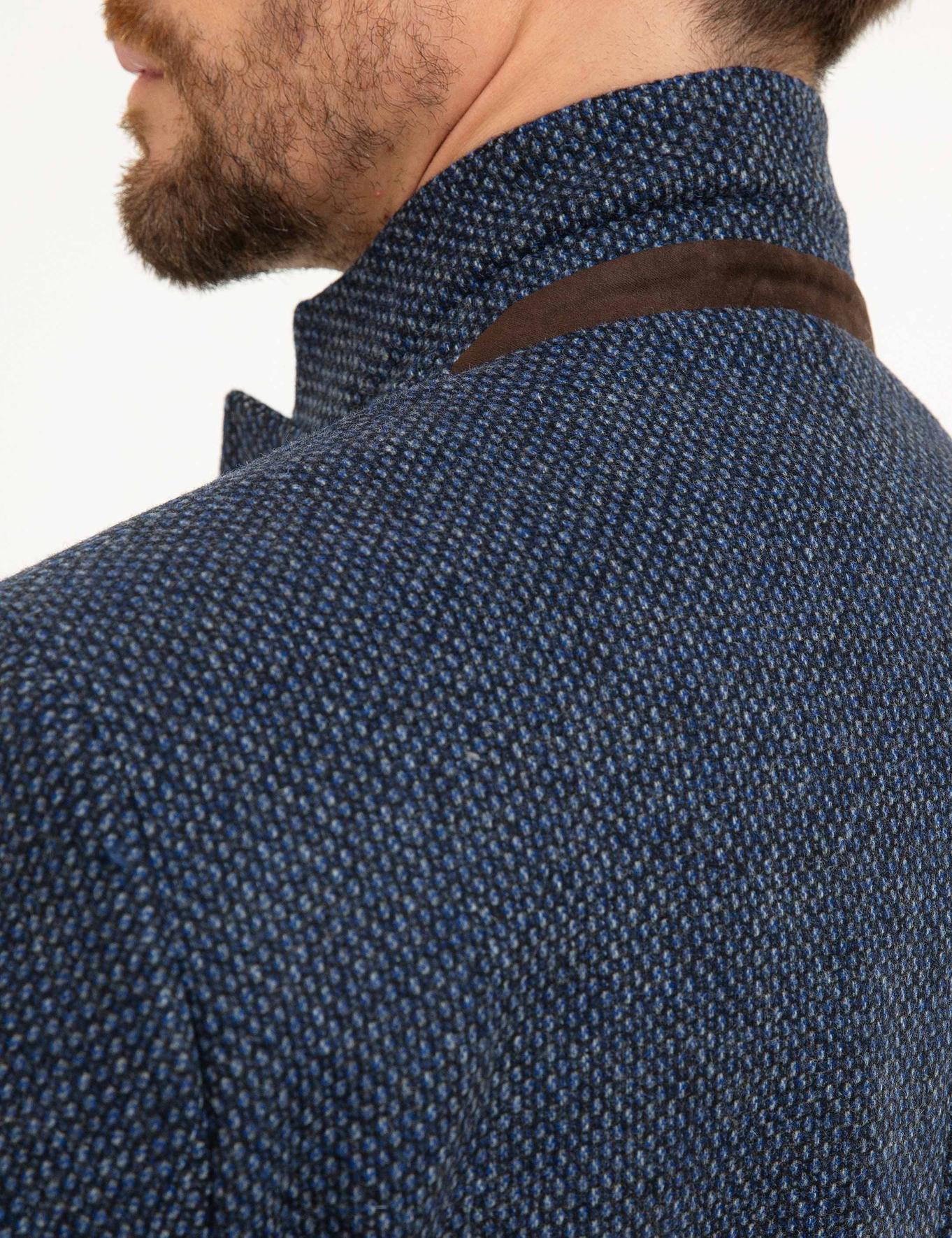 Açık Lacivert Slim Fit Ceket