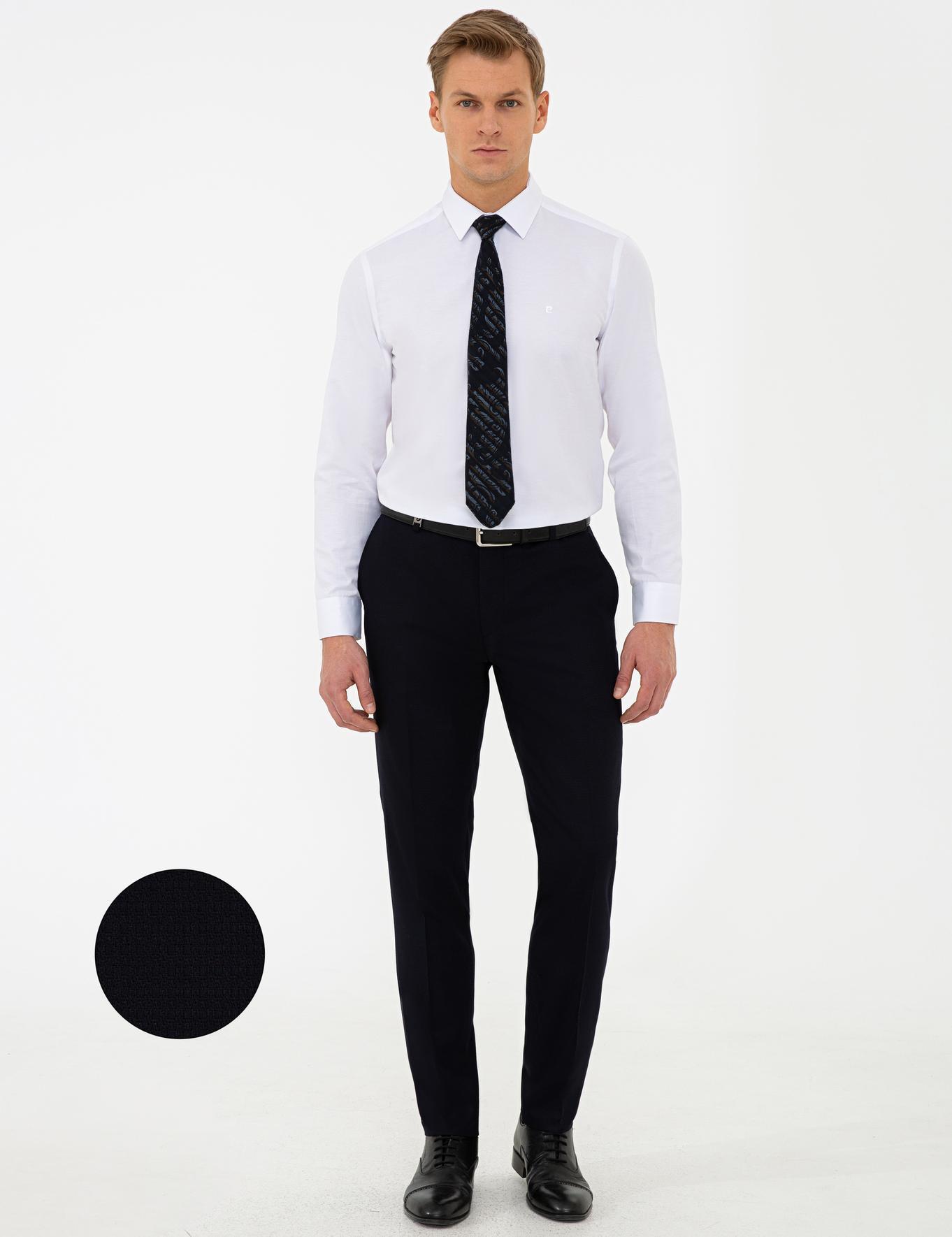 Lacivert Ex. Slim Fit Pantolon