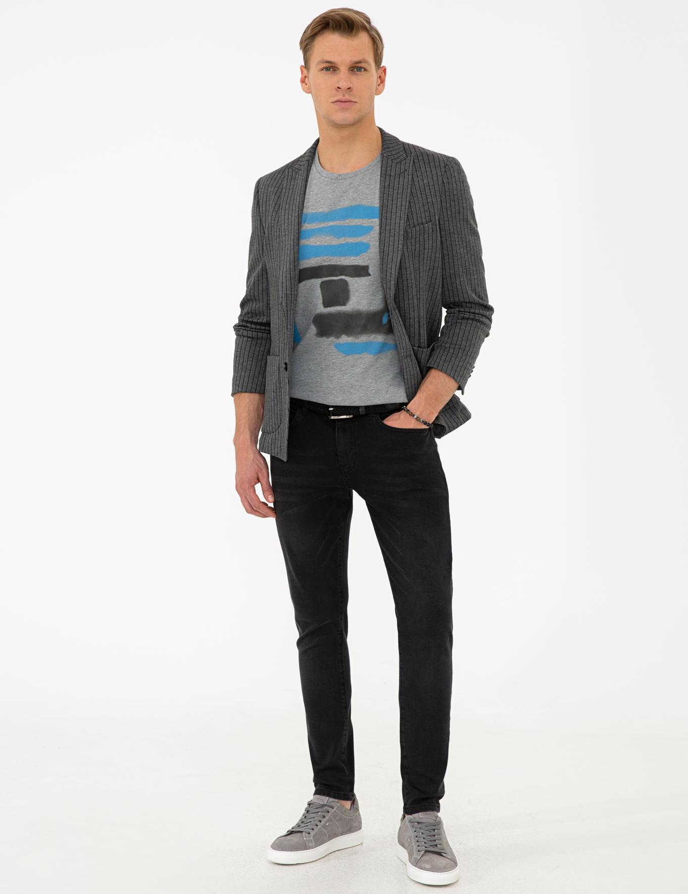 Gri Ex. Slim Fit Ceket