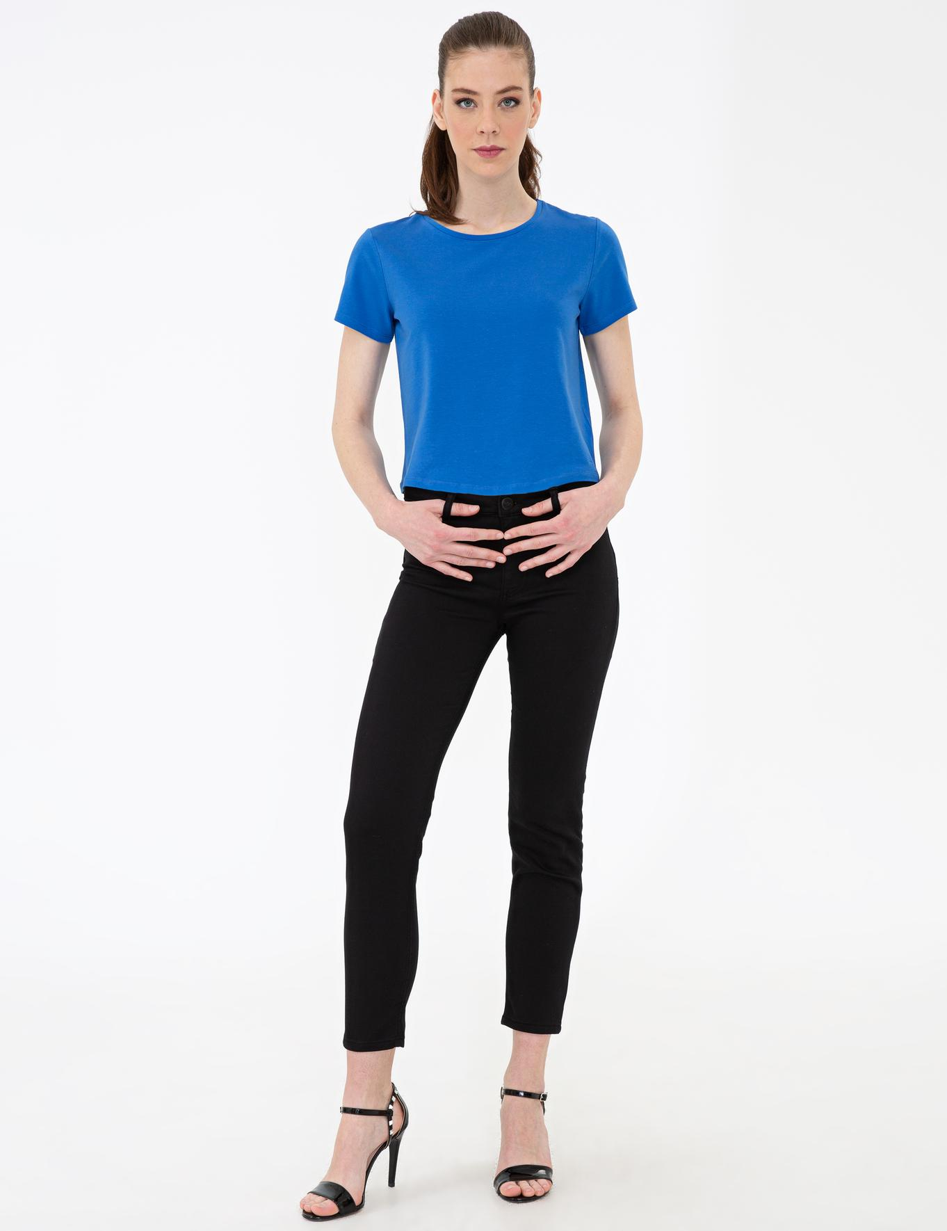 Sax Crop Top Fit T-Shirt
