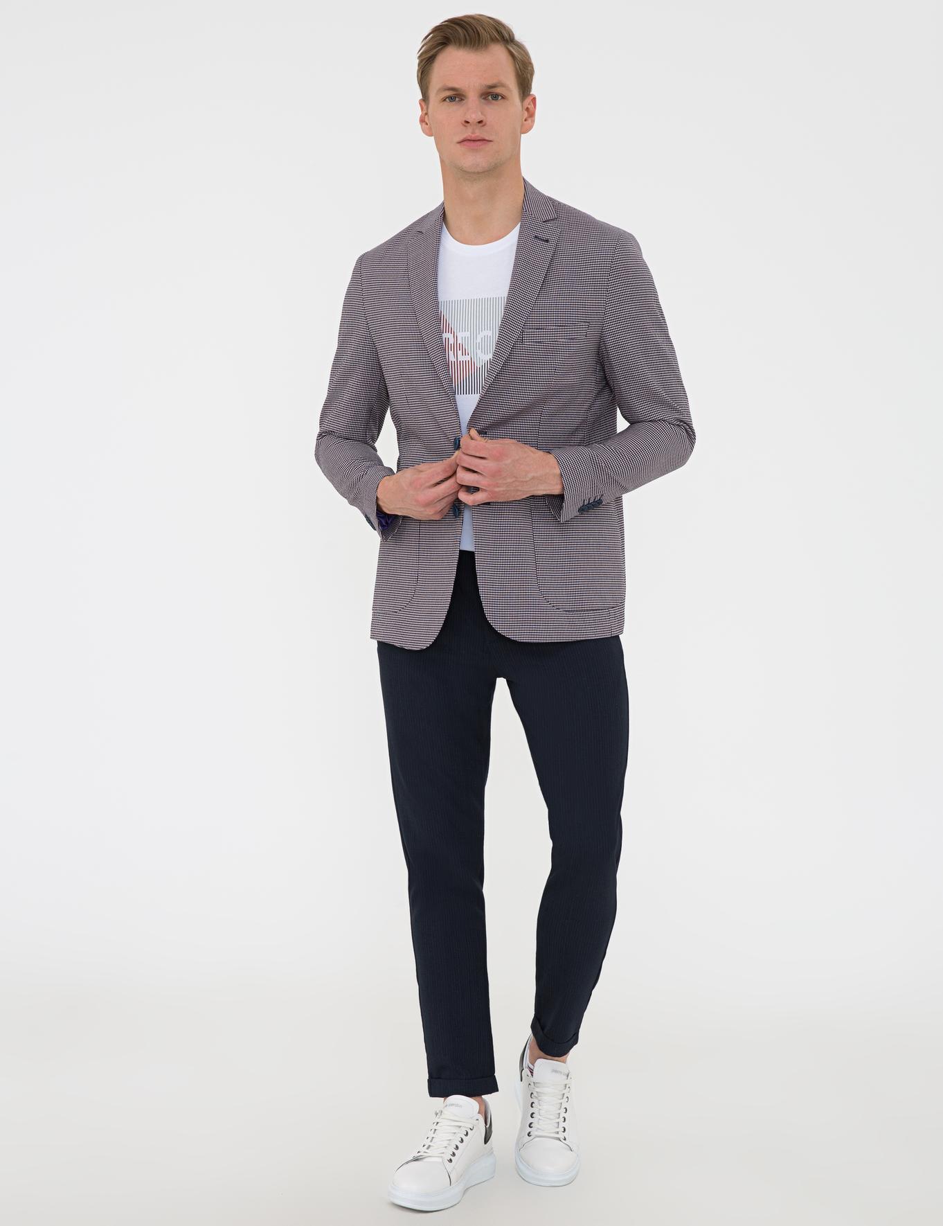 Indıgo Slim Fit Ceket