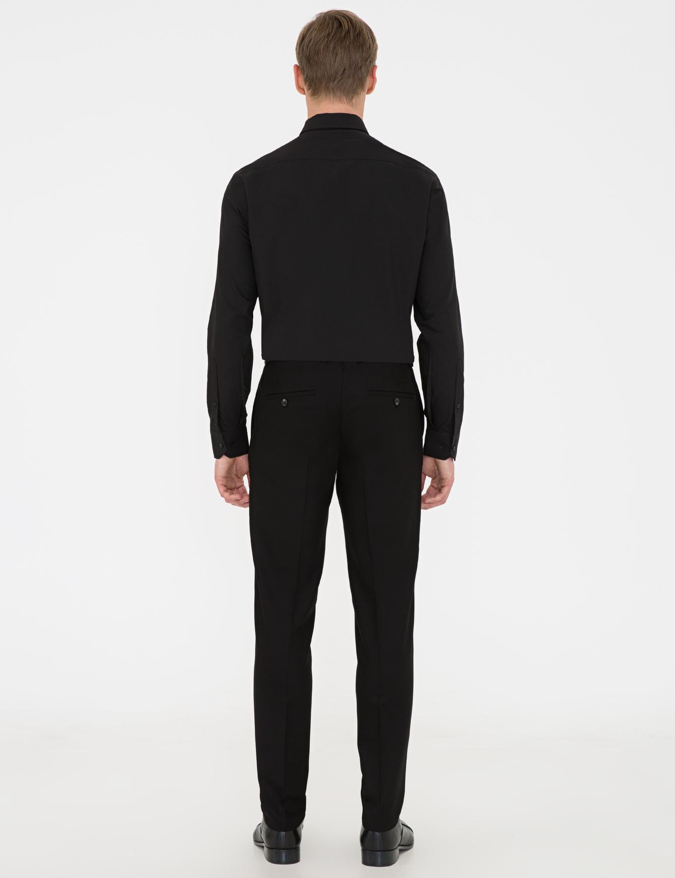 Siyah Ex. Slim Fit Pantolon