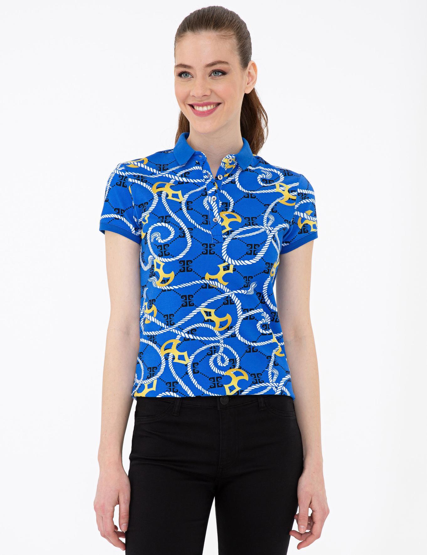 Saks Slim Fit Polo Yaka T-Shirt