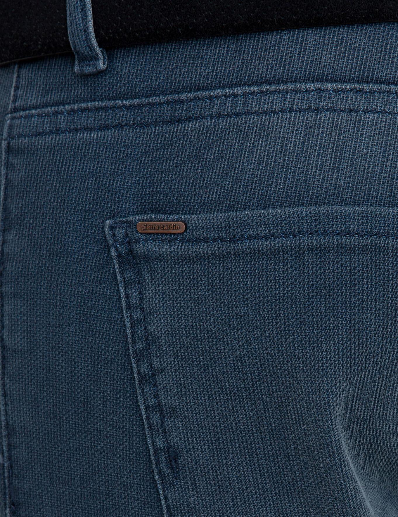 Koyu Mavi Straight Fit Denim Pantolon
