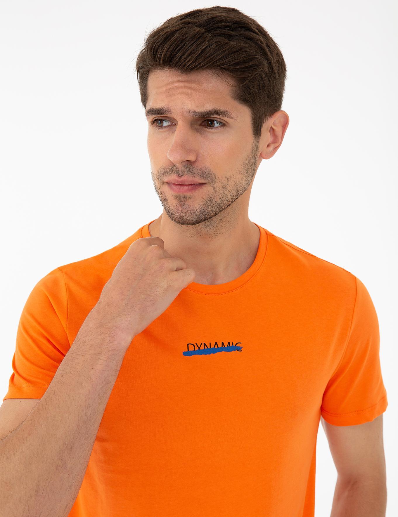 Somon Slim Fit Bisiklet Yaka T-Shirt