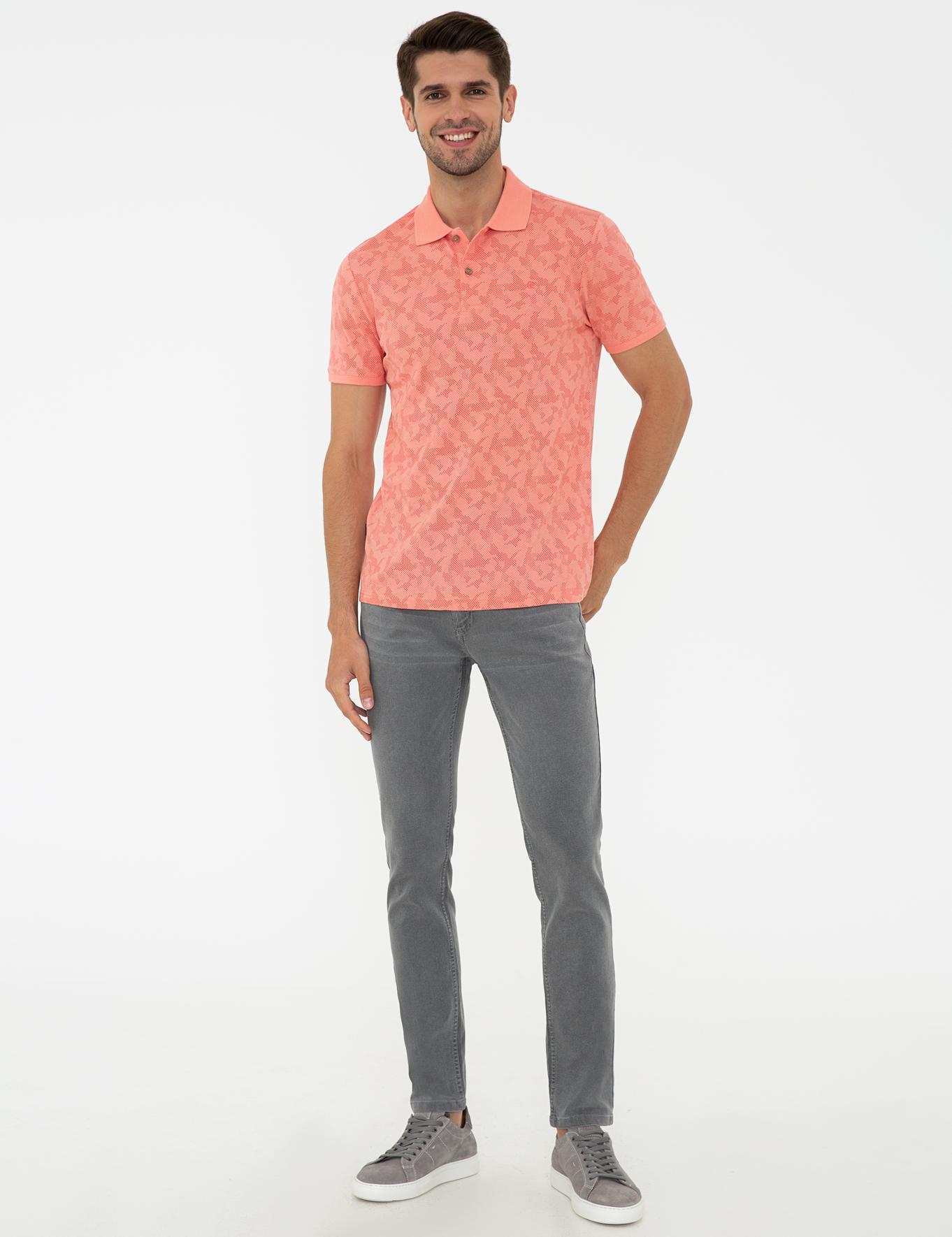 Yavruağzı Slim Fit Polo Yaka T-Shirt